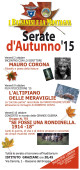SERATE D'AUTUNNO 2015